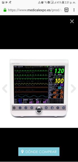 Monitor Multiparamétrico Resp / Pni / Spo2 / EcgVp-1200