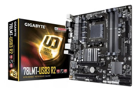 Placa Mãe Gigabyte 78lmt-usb3 R2 Ddr3 Socket Lga Am3+ Am3