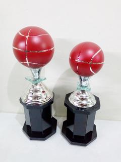 Trofeos De Basquetbol Dupla