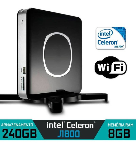Nano Pc Intel Dual Core Ram 8gb Ssd 240gb Wifi E Hdmi