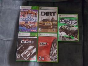 5 Jogos Grid Originais Xbox 360