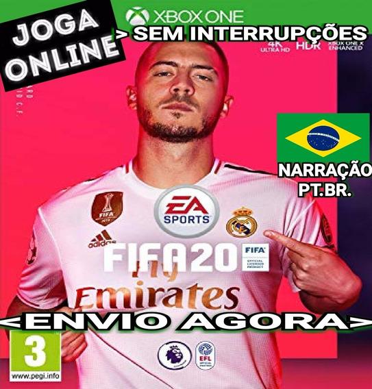 Fifa 20 Fifa20 Xbox One Mídia Digital Narração Português Br