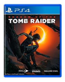 Shadow Of The Tomb Raider Ps4 Playstation 4 Pt Mídia Física