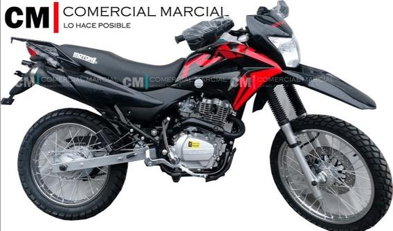 Motor Uno Trail 200 Año 2020 Nuevo Modelo