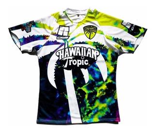 Camiseta Rugby Cays Tela Juego Equipos Super Rugby Remera Entrenar