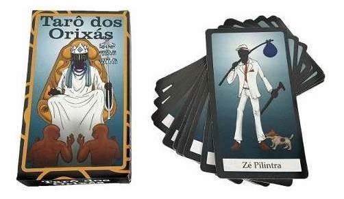Tarô Dos Orixas Baralho 22 Cartas Tarot Esoterico C/ Manual