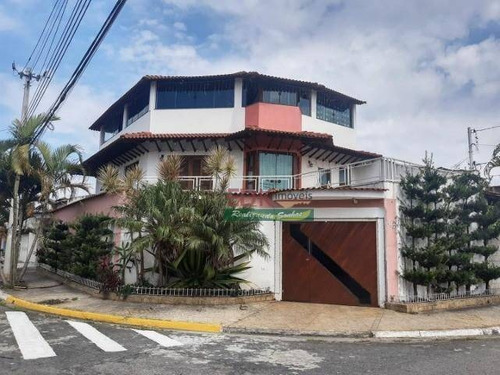 Imagem 1 de 19 de Sobrado Com 3 Dormitórios À Venda, 349 M² Por R$ 1.380.000 - Jardim Dos Ipês - Suzano/sp - So2326