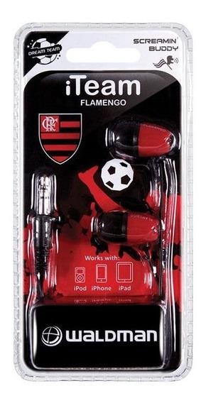 Fone De Ouvido Time Sb-10 Flamengo Waldman
