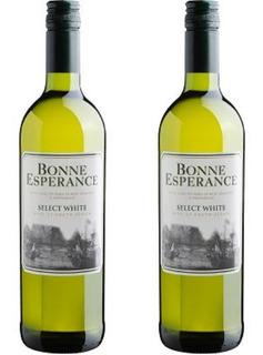 Vinho Bonne Esperance Select White - Kit Com 2 Unidades