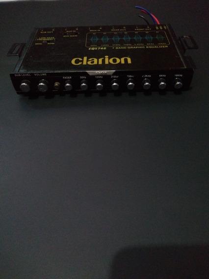 Ecualizador Parametrico Clarion 7 Bandas