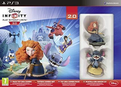 Kit Disney Ps3 Infinity Toy Box 2.0 Original + Nf + Lacrado