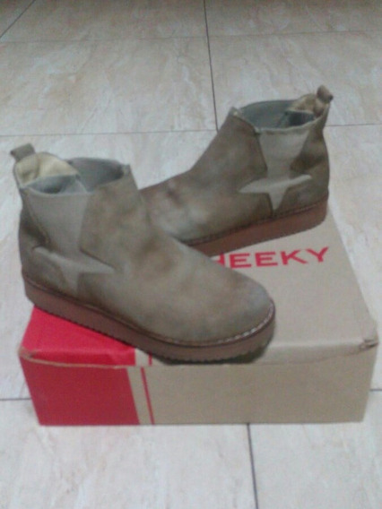 Botas Cheeky N¤ 33 Nobuk Nena Color Vison