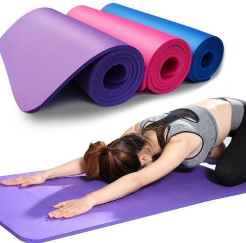 Imagen 1 de 9 de Alfombra Mat Yoga Camping Pilates Ejercicios 3/4/5/6/7mm