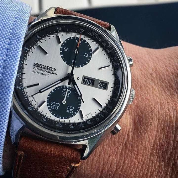 Belíssimo E Impecável Relógio Seiko Vintage 6138-8020 1975