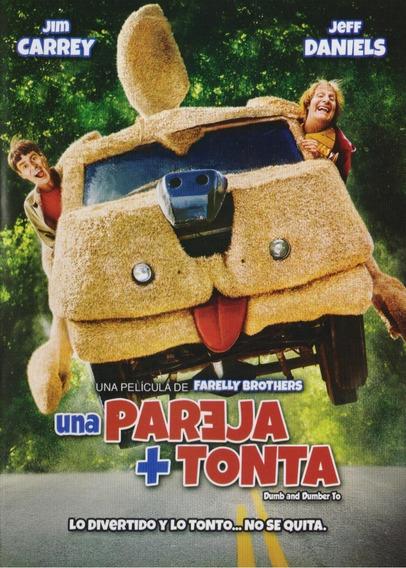Una Pareja + Mas Tonta Dumb & Dumber To Pelicula Dvd