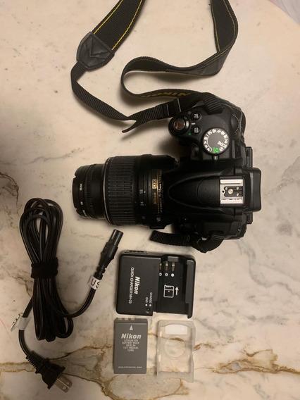 Kit Câmera Nikon D5000 + Lente 18-55vr + Acessórios