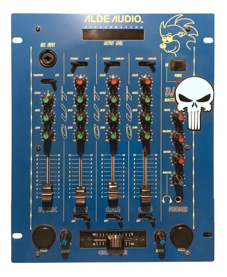 Mezcladora Dj 3 Canales Alde Audio