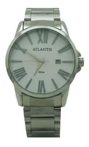 Relógio Feminino Atlantis Original Prata