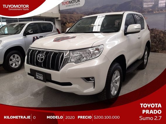 Toyota Prado Sumo 3p Txl 2.7 4x4 A/t Gasolina