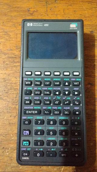 Não Funciona Calculadora Hp 48 G Display Ruim Usada