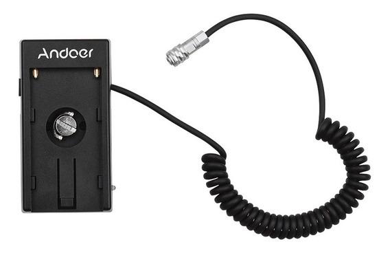 Adaptador De Bateria Para Câmera Blackmagic Pocket 4k 6k