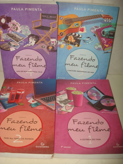 Coleção Fazendo Meu Filme - 4 Volumes - Paula Pimenta -