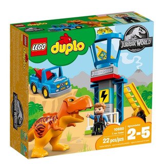 Lego Duplo Jurassic World Torre Do T-rex 10880 + Nfe