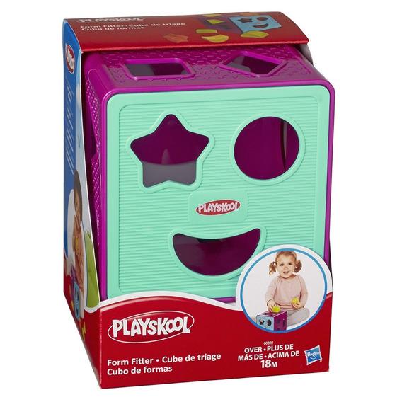 Cubo De Formas Bebe Playskool Didactico Hasbro Envio Gratis