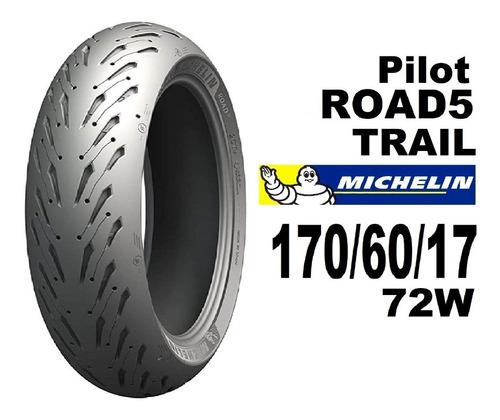 Imagen 1 de 5 de Michelin Pilot Road 5 Trail 170 60 17 72w - Envio Gratis