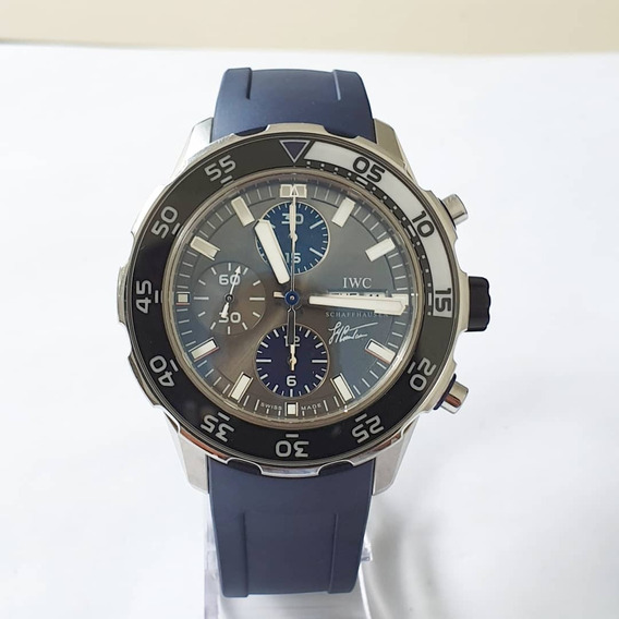 Iwc - Aquatimer Tribute To Jaques Cousteau. 44mm. Completo!
