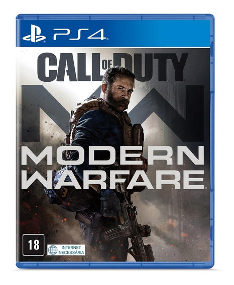 Call Of Duty Modern Warfare - Ps4 ( Novo, Original, Lacrado)