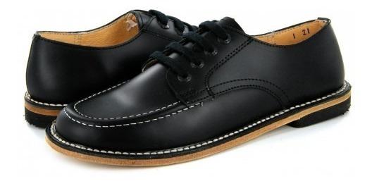 Zapato Escolarelefante 7001 -1 Negro Vaqueta (21.5 - 26) Ni