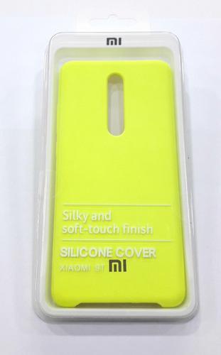Forro Case Estuche Celular Xiaomi Mi 9t Verde Tienda Fisica