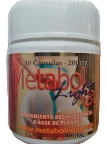 2 Frascos De Metabol Light X 30
