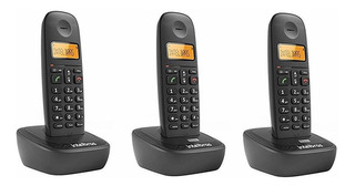 Telefone Sem Fio Intelbras Ts2513, Preto