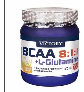 Bcaa 8.1.1 + Glutamina Victory
