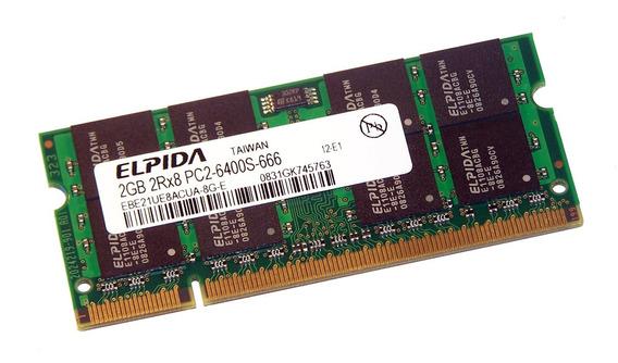 Memoria Ram Notebook Netbook 2x 2gb 4gb Ddr2 800mhz Pc2