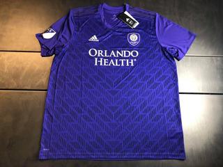 Camisa Orlando City Mls 2019 Home Tam 2xl (83x67) Nova