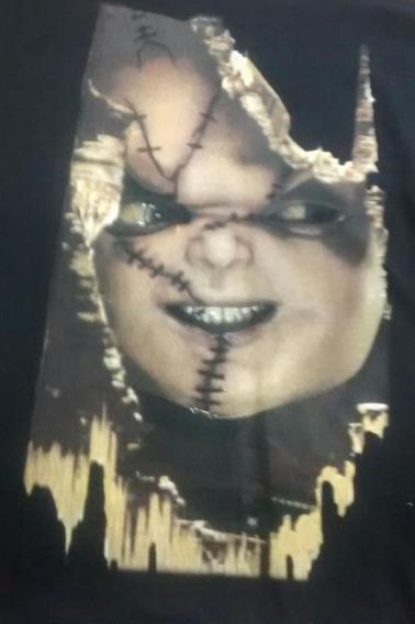 Camiseta Chucky Face Hcd Chc01