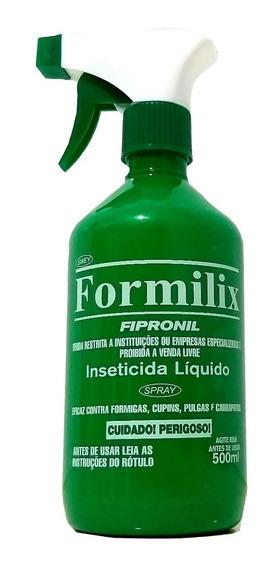 Formilix C/ Aplicador 500 Ml Formiga Cupim Carrapato Pulgas