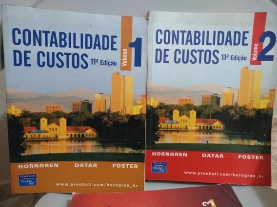 Livro Contabilidade De Custos 11° Edição - Volumes 1 E 2