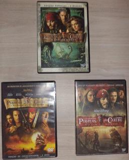Coleção Piratas Do Caribe (3 Filmes / 6 Discos)