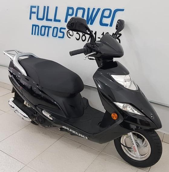 Suzuki Burgman 125i Preta 2017