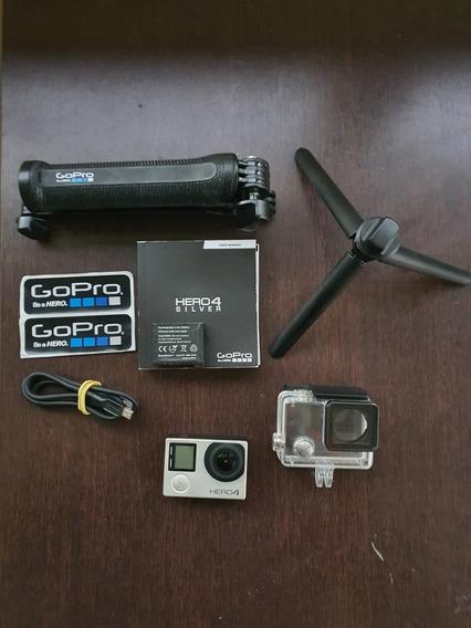 Câmera Digital Gopro Hero 4 Silver