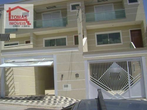 Imagem 1 de 18 de Sobrado Com 3 Dormitórios À Venda, 230 M² Por R$ 750.000,00 - Vila Pereira Barreto - São Paulo/sp - So0300