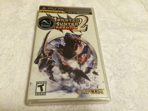 Monster Hunter 2 Freedom (sony Psp, 2007) Lacrado