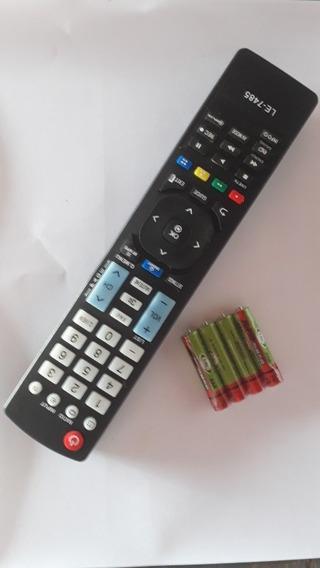 Controle Remoto Barato Tv Lcdled Plasma Smart Lg +4 Pilhas
