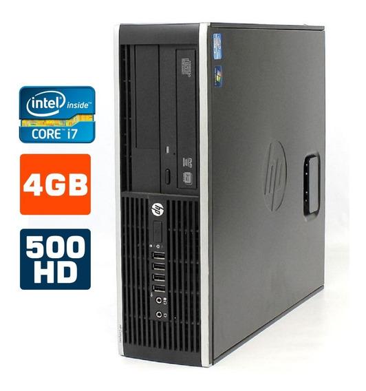 Pc Hp Hp 8300 I7- 3770 8gb Hd 1tb Win7 + Teclado Mouse Wi-fi