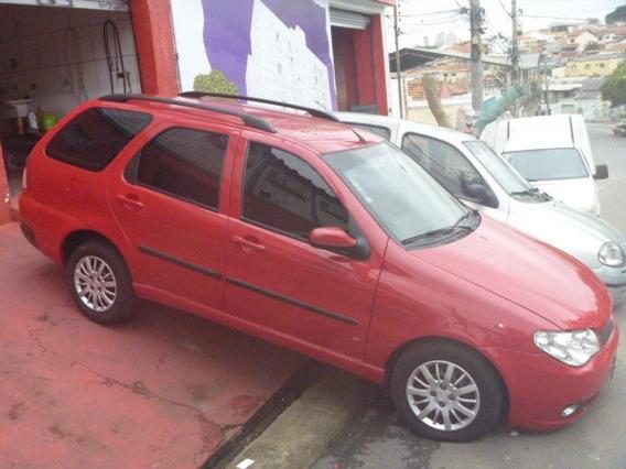 Palio Week Elx 1.3 8v Completa 2005 Vermelha