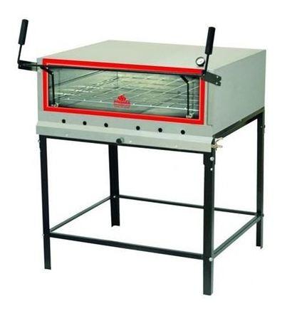 Imagen 1 de 3 de Hornos Comerciales Pizzeros A Gas Progas Prp-900 90x90.5  Pa